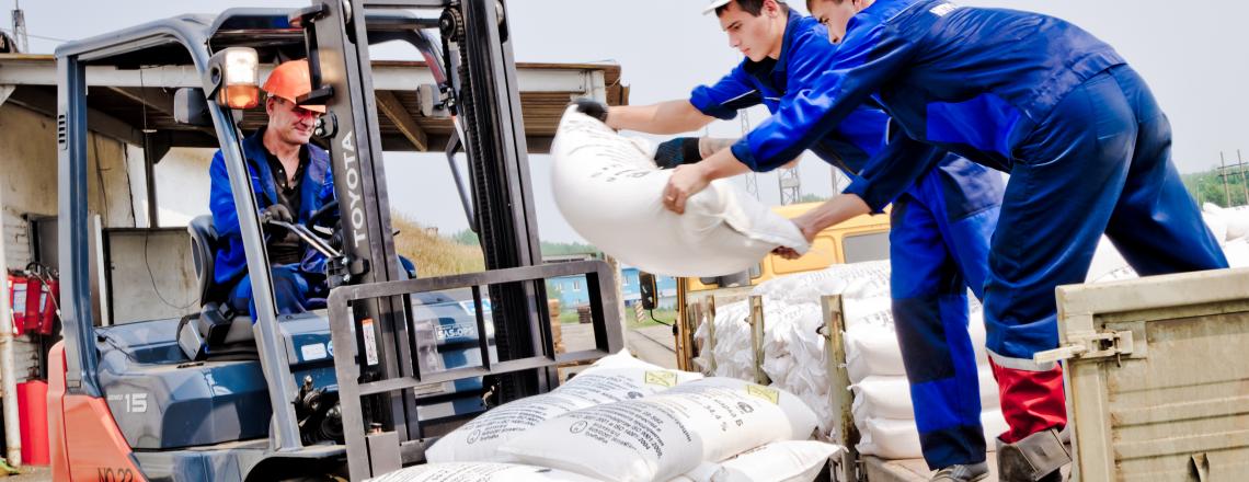 Производство, хранение и распространение промышленных взрывчатых веществ